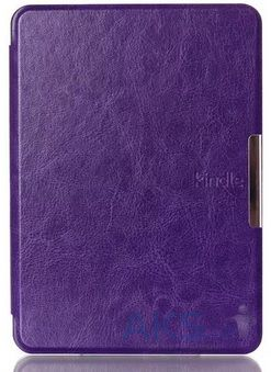 Обложка (чехол) Leather case for Amazon Kindle 6 Purple