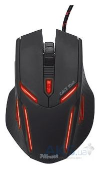 Компьютерная мышка Trust GXT 152 Illuminated Gaming Mouse (19509) Black