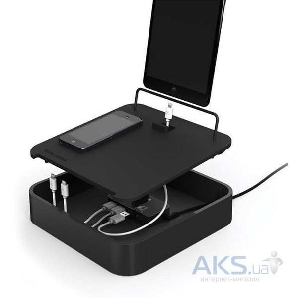 Док-станция Bluelounge Sanctuary4 Multiple Charging Station Black (S4-BL)