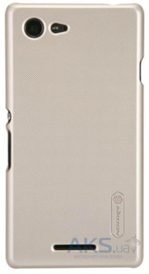 Чехол Nillkin Super Frosted Shield Sony Xperia E3 D2202 Gold
