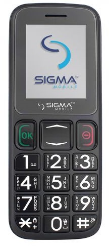 Мобильный телефон Sigma mobile Comfort 50 Mini3 Grey/Black