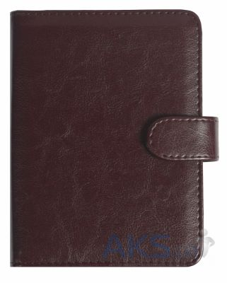 Обложка (чехол) Korka Rich Red Wine (U1-Rich-pu-rw) для PocketBook 611/613/622