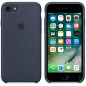 Чехол Apple Silicone Case iPhone 7, iPhone 8 Midnight Blue_High Copy - миниатюра 2
