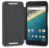 Вид 3 - Чехол TETDED Leather Book Series LG Google Nexus 5X H791 Black