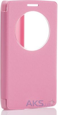 Чехол VOIA Flip Case for LG Optimus L70+ Dual (D295/Fino) Pink