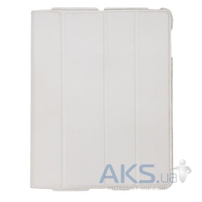 Чехол для планшета Dublon Leatherworks Leatherworks Smart Perfect Case Executive White for iPad 4/iPad 3/iPad 2 (SPC-ID3-EWH)