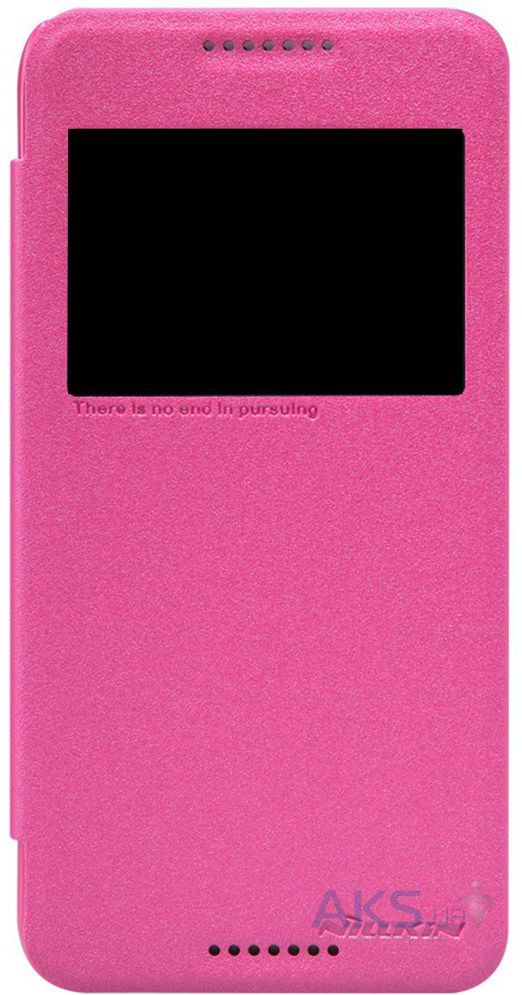 Чехол Nillkin Sparkle Leather Series Samsung A800 Galaxy A8 Pink