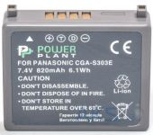 Аккумулятор Panasonic VW-VBE10, CGA-S303 820mAh (DV00DV1341) PowerPlant