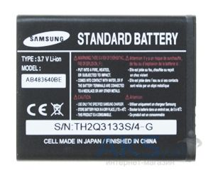 Аккумулятор Samsung J600 / AB483640BE (700 mAh) Original