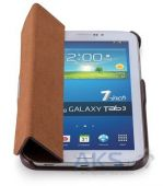 Вид 3 - Чехол для планшета iCarer Leather Case for Samsung Galaxy Tab3 T2100/P3200 7.0 Brown (RS320001BR)