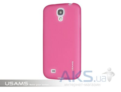 Чехол Usams Jelly for Samsung i9500 Galaxy S4 Pink