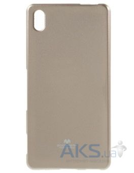Чехол Mercury Jelly Color Series Sony Xperia Z3+ E6553, Xperia Z3+ E6533 Dual Gold