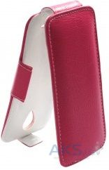 Чехол Sirius flip case Alcatel One Touch 4015d POP C1 Pink