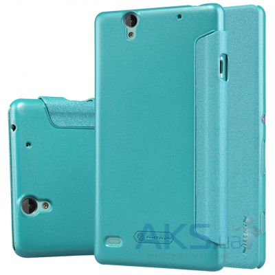 Чехол Nillkin Sparkle Leather Series Sony Xperia C4 E5333 Turquoise