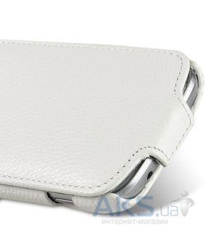 Вид 4 - Чехол Melkco Jacka leather case for Samsung S7562 Galaxy S DuoS White (SS7562LCJT1WELC)