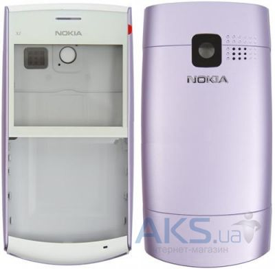 Корпус Nokia X2-01 Purple