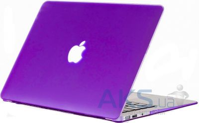 Чехол Kuzy Rubberized Case for MacBook Air 13 Purple