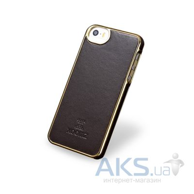 Чехол Xoomz Luxury Electroplating Apple iPhone 5, iPhone 5S, iPhone 5SE Brown