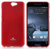 Вид 2 - Чехол Mercury Jelly Color Series HTC One A9 Red