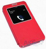 Вид 2 - Чехол Nillkin Stylish Leather Series Samsung N9000, N9002, N9005, N9006 Galaxy Note 3 Red
