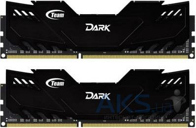 Оперативная память Team DDR3 16GB (2x8GB) 1866 MHz Dark Series Black (TDKED316G1866HC10SDC01)