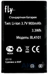 Аккумулятор Fly DS210 / BL4101 (900 mAh) Original