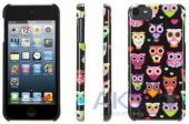 Чехoл Griffin Wise Eyes for iPod touch 5G Black/Pink (GB35942)