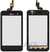Сенсор (тачскрин) для LG Optimus 3D P920 with frame Original Black