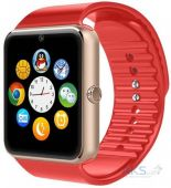 Смарт-часы (Smart Watch) UWatch Smart GT08 Exclusive (Gold/Red)