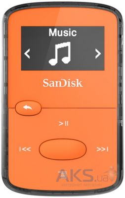 Mp3-плеер SanDisk Sansa Clip JAM 8GB Orange