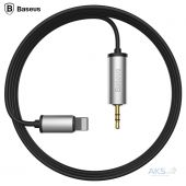 Baseus Enjoy Apple Transfer Male Audio Cable 1.2M Silver (NGB37-01)