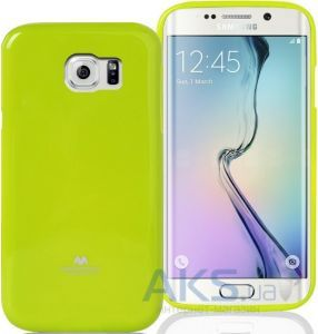 Чехол Mercury Jelly Color Series Samsung G925F Galaxy S6 Edge Green