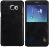 Вид 2 - Чехол Nillkin Qin Leather Series Samsung N920 Galaxy Note 5 Black