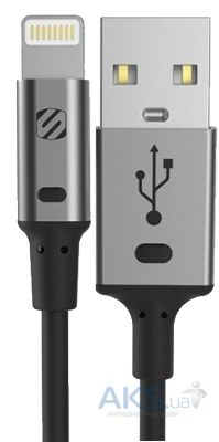 Кабель USB Scosche strikeLINE™ II Charge And Sync Cable For Lightning to USB grey(I2SGA)