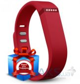 Спортивный браслет Fitbit Flex Wireless Activity + Sleep Wristband Red