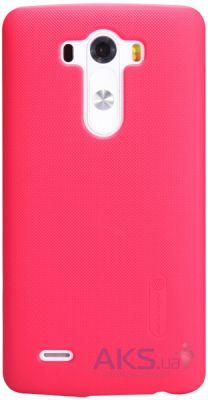 Чехол Nillkin Super Frosted Shield LG Optimus G3 D855 red