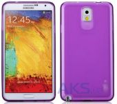 Чехол Momax Protection TPU cover case for Samsung N9000 Galaxy Note 3 Purple (CCSANOTE3U)