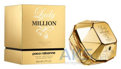 Paco Rabanne Lady Million Absolutely Gold Парфюмированная вода 80 мл