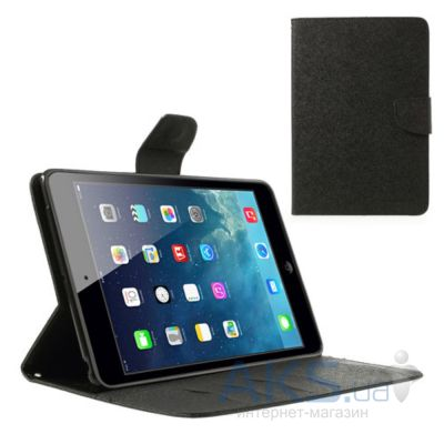 Чехол для планшета Mercury Fancy Diary Series iPad Mini, iPad Mini 2, iPad Mini 3 Black
