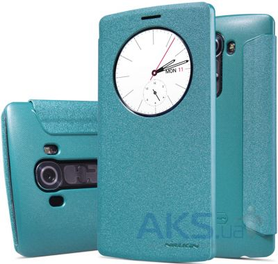 Чехол Nillkin Sparkle Leather Series LG Optimus G4 H818 Blue