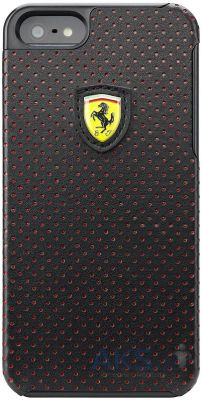 Чехол CG Mobile Ferrari Hard Back Challenge Perforated Collection Apple iPhone 5, iPhone 5S, iPhone SE Black (FECHFPHCP5)
