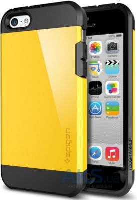 Чехол SGP Case Tough Armor Reventon Yellow for iPhone 5C (SGP10547)