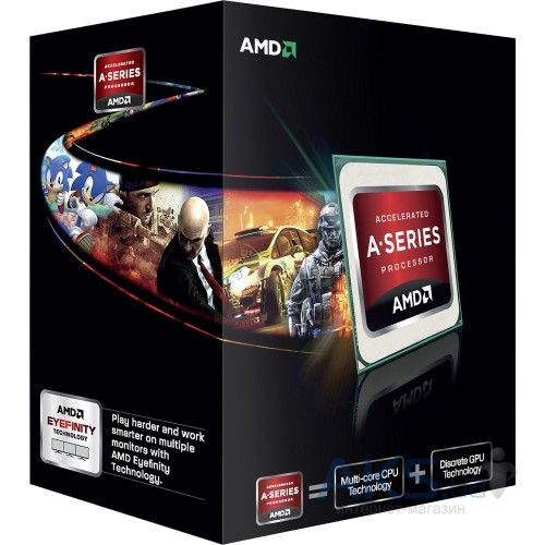 Процессор AMD A10-7800 (AD7800YBJABOX)