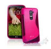 Чехол Celebrity TPU cover case for LG D802 Optimus G2 Pink
