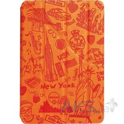 Чехол для планшета Ozaki O!coat-Travel New York for iPad mini/mini 2 Orange (OC115NY)