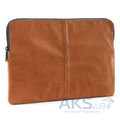 "Чехол Decoded Leather Slim Sleeve with Zipper for MacBook 12"" Brown (D4SS12BN)"
