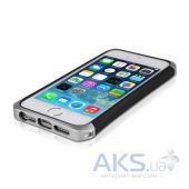 Вид 2 - Чехол ITSkins Nitro Forged for iPhone 5/5S Silver (APH5-NTRFG-SLVR)