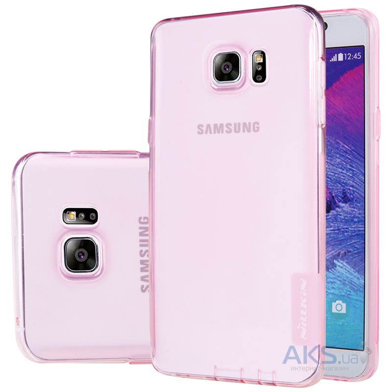 Чехол Nillkin Nature Series Samsung N920 Galaxy Note 5 Transparent Pink
