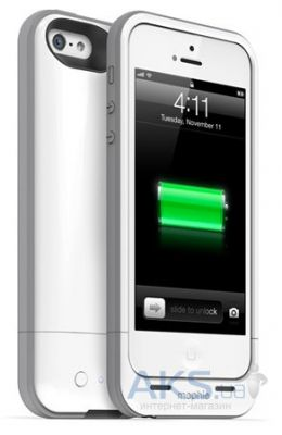 Внешний аккумулятор Mophie Juice Pack Hellium for iPhone 5 [MOP-2376], 1500mAh Silver