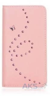 Чехол Bling My Thing Mystique Papillon Flip Apple iPhone 5, iPhone 5S, iPhone SE Pink (BMT-MYS-PP-PKL-FC-IP)